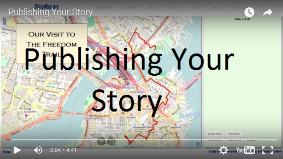 Publishing Your Story